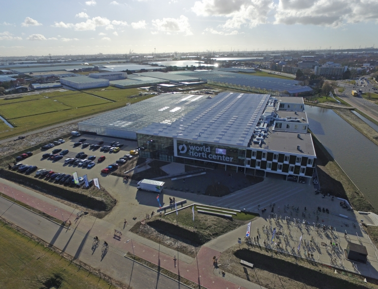 Luchtfoto Campus World Horti Center